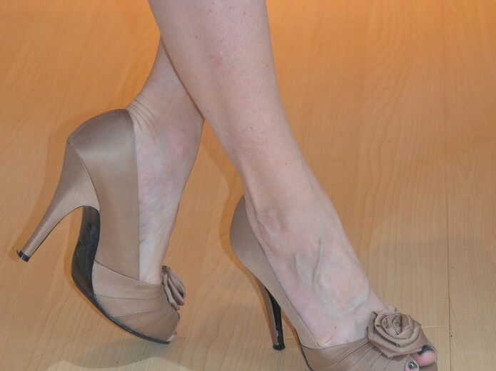 How to Walk in Heels In Style