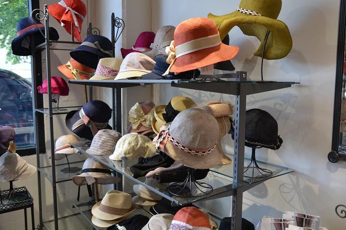 Hat shopping in Portland