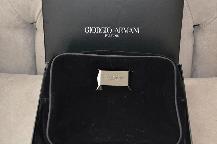 Armani makeup pouch