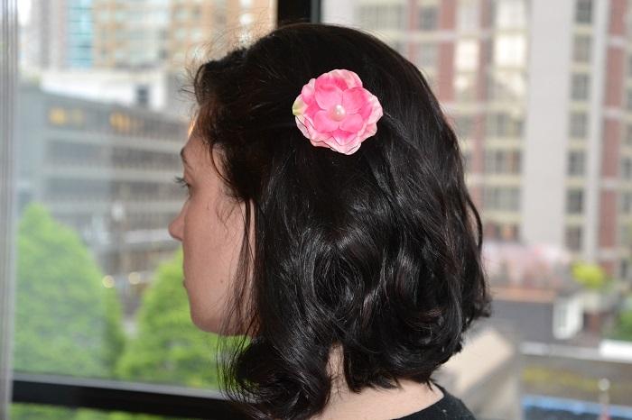 Hair Accessories Pink flower