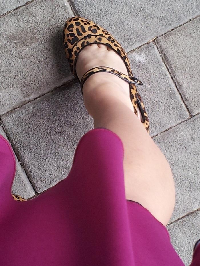 leopard print wedding heels