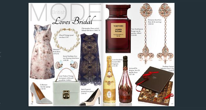 British MODE loves bridal