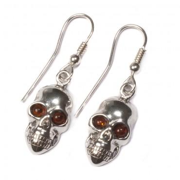 skull earrings in jewellery
