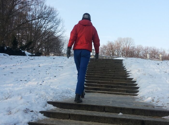 Running Outdoors in Winter