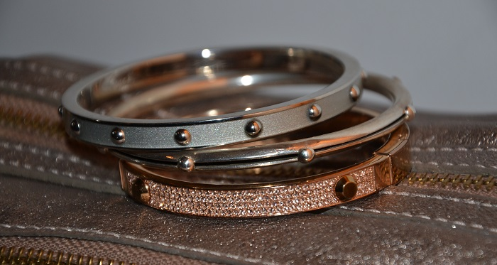 mixed metal jewelry bracelets
