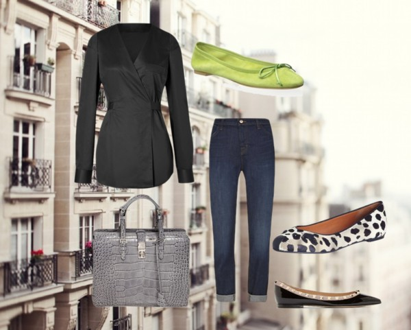 how to style flats