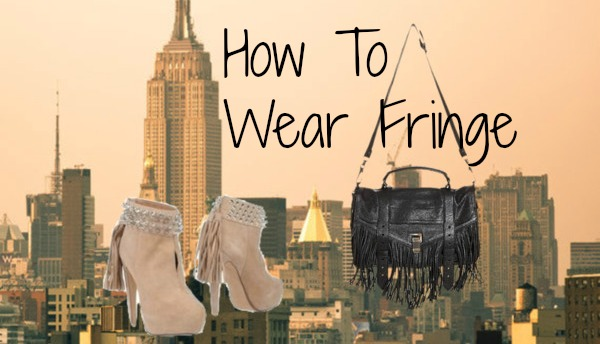 How To Wear Fringe For Fall 2014