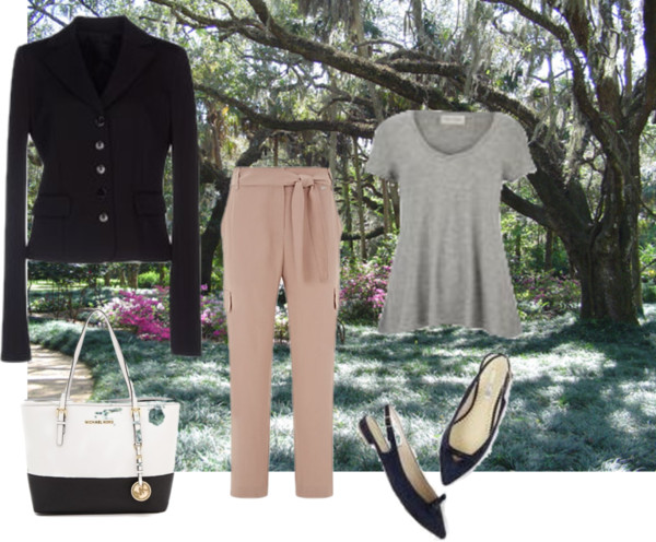 how to dress an inverted triangle