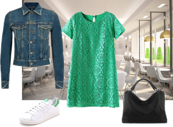 how to wear green for spring 2015