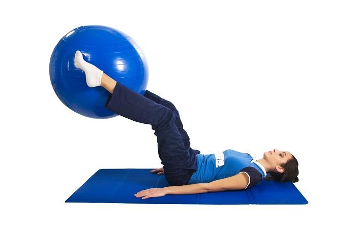 killer abs ball workout