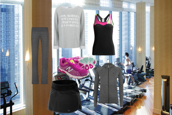how to feel confident when working out