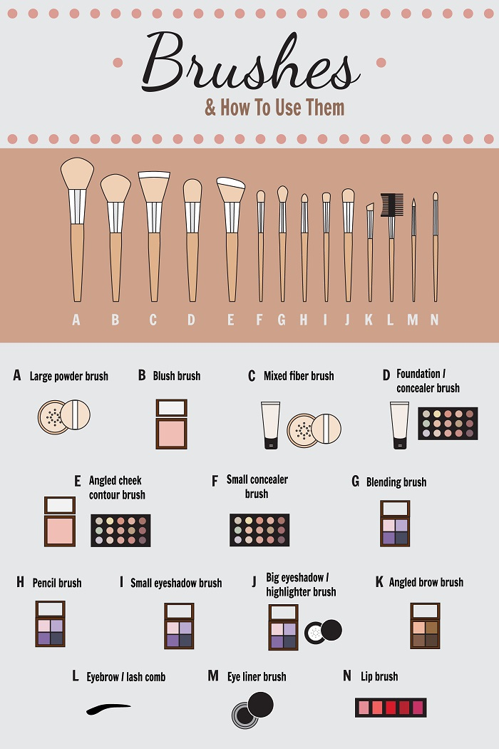 Eyeshadow Guide: Your Guide To Makeup Brushes