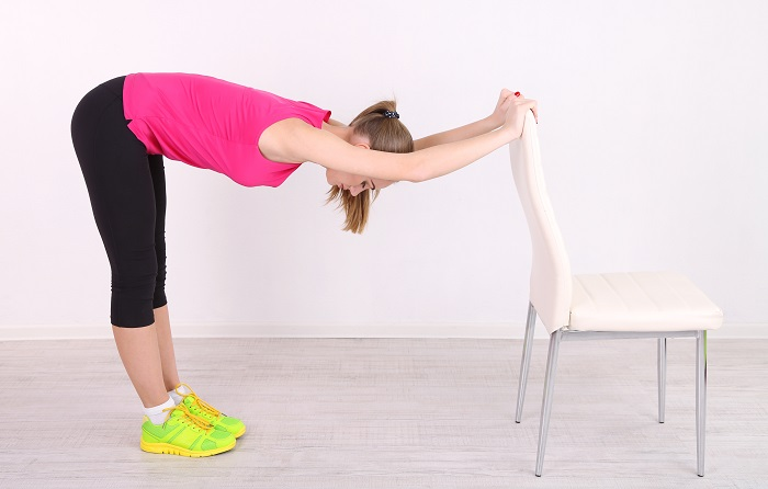 best exercises if you are on your feet all day