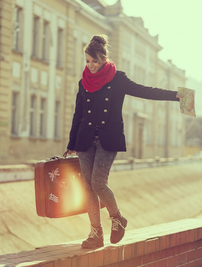 best outfits for winter travel